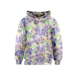 Softly Floral B Kids  Pullover Hoodie