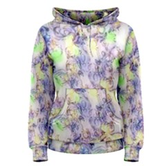 Softly Floral B Women s Pullover Hoodie