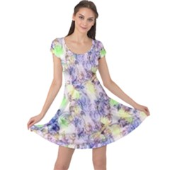 Softly Floral B Cap Sleeve Dresses