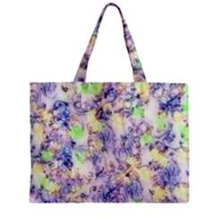 Softly Floral B Zipper Mini Tote Bag