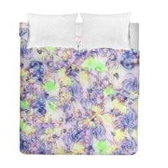 Softly Floral B Duvet Cover Double Side (Full/ Double Size)