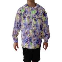 Softly Floral B Hooded Wind Breaker (Kids)