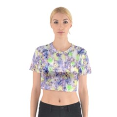 Softly Floral B Cotton Crop Top