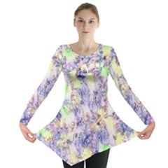 Softly Floral B Long Sleeve Tunic