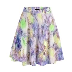 Softly Floral B High Waist Skirt