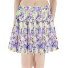 Softly Floral B Pleated Mini Skirt