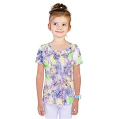 Softly Floral B Kids  One Piece Tee