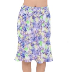 Softly Floral B Mermaid Skirt