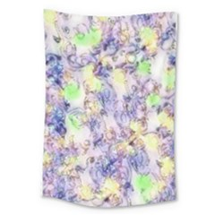 Softly Floral B Large Tapestry
