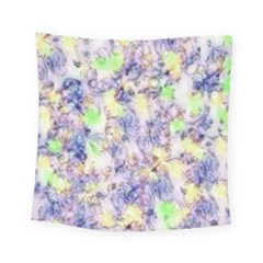 Softly Floral B Square Tapestry (Small)