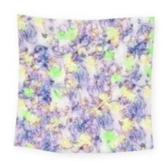 Softly Floral B Square Tapestry (large)