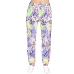 Softly Floral B Drawstring Pants