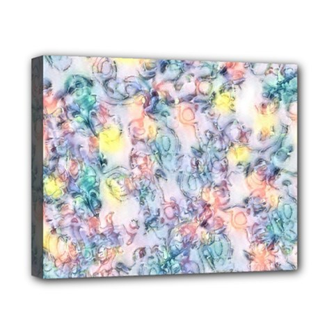 Softly Floral C Canvas 10  x 8