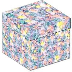 Softly Floral C Storage Stool 12