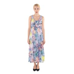 Softly Floral C Sleeveless Maxi Dress
