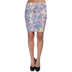 Softly Floral C Bodycon Skirt