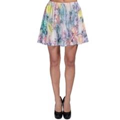 Softly Floral C Skater Skirt