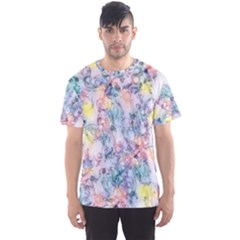 Softly Floral C Men s Sport Mesh Tee