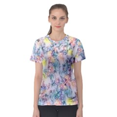 Softly Floral C Women s Sport Mesh Tee