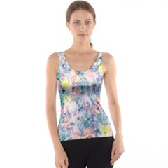 Softly Floral C Tank Top