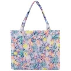 Softly Floral C Mini Tote Bag