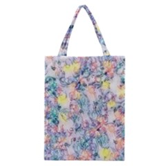 Softly Floral C Classic Tote Bag