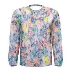 Softly Floral C Men s Long Sleeve Tee