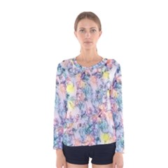 Softly Floral C Women s Long Sleeve Tee