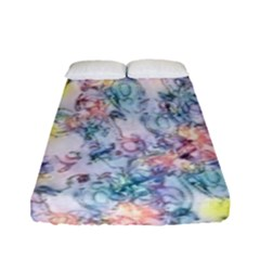 Softly Floral C Fitted Sheet (Full/ Double Size)