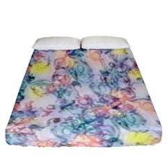 Softly Floral C Fitted Sheet (Queen Size)