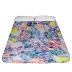 Softly Floral C Fitted Sheet (King Size)
