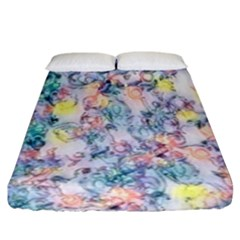 Softly Floral C Fitted Sheet (California King Size)