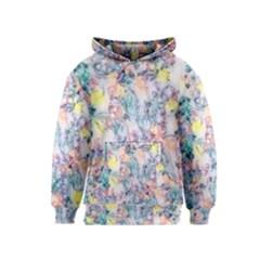 Softly Floral C Kids  Pullover Hoodie