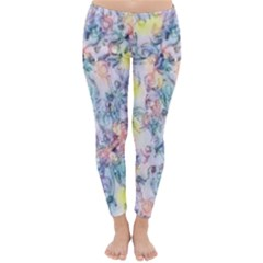 Softly Floral C Classic Winter Leggings