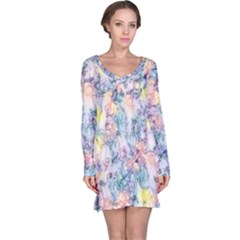 Softly Floral C Long Sleeve Nightdress