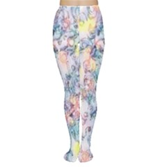 Softly Floral C Women s Tights