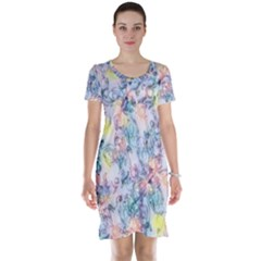 Softly Floral C Short Sleeve Nightdress