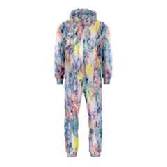 Softly Floral C Hooded Jumpsuit (Kids)