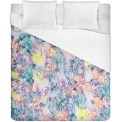Softly Floral C Duvet Cover (California King Size)
