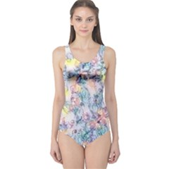 Softly Floral C One Piece Swimsuit