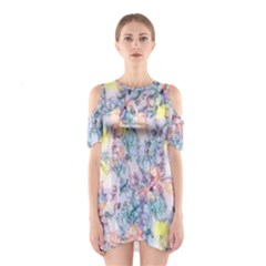 Softly Floral C Shoulder Cutout One Piece