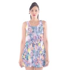 Softly Floral C Scoop Neck Skater Dress