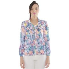 Softly Floral C Wind Breaker (Women)
