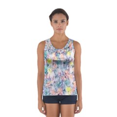Softly Floral C Women s Sport Tank Top