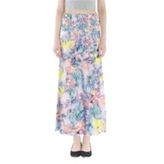 Softly Floral C Maxi Skirts