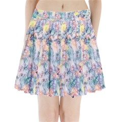 Softly Floral C Pleated Mini Skirt