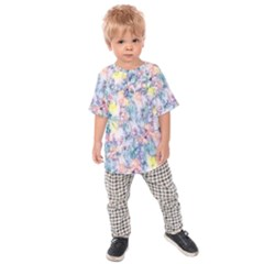 Softly Floral C Kids  Raglan Tee