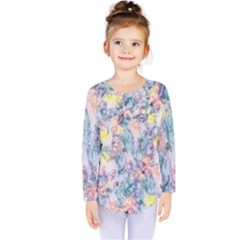 Softly Floral C Kids  Long Sleeve Tee