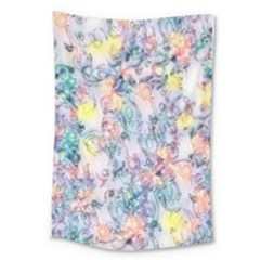 Softly Floral C Large Tapestry
