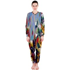 Abstractionism Spring Flowers OnePiece Jumpsuit (Ladies)